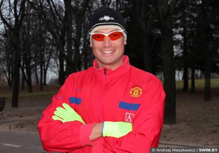 Анджей Вашкевич, бег зимой