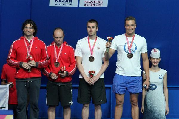 Andrzej Waszkewicz, World masters swimming championships 2015