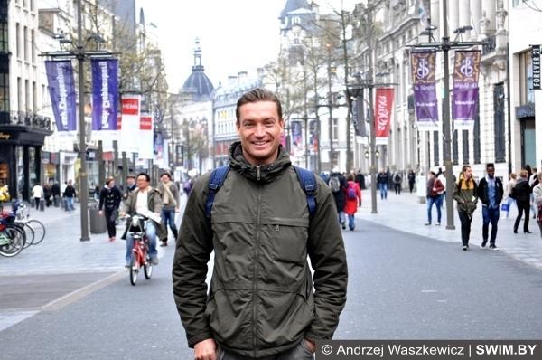 Прогулка по улицам города Антверпена Бельгия