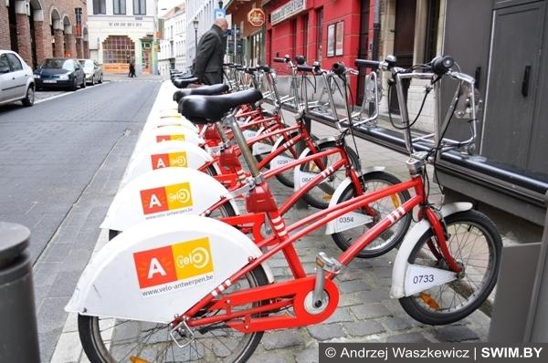 Велосипеды в Антверпене Бельгия