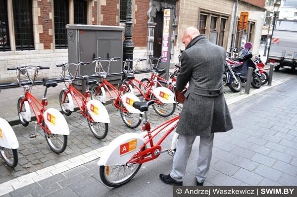 Прокат велосипедов в Антверпене Бельгия
