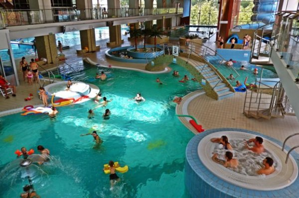 Sports center Aquasfera Olsztyn, AquaPark, masters swimming