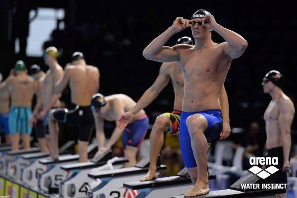 ARENA Racing, European Swimming Championships 2017, Arena Water Instinct, Arena Swimsuits, Nicolò Martinenghi, Swim.by
