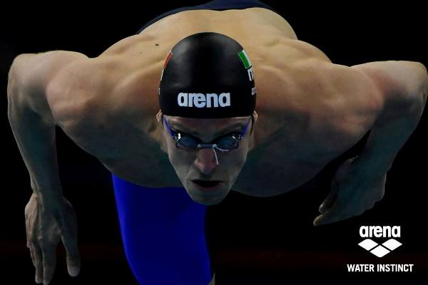 ARENA Racing, European Swimming Championships 2017, Arena Water Instinct, Arena Swimsuits, Luca Dotto, Swim.by