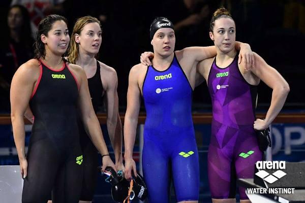 ARENA Racing, European Swimming Championships 2017, Arena Water Instinct, Arena Swimsuits, Ranomi Kromowidjojo, Dutch Relay Swim Team, www.swim.by