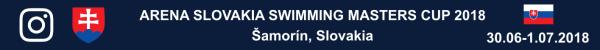 Arena Slovakia Swimming Masters Cup 2018, Slovakia Swimming Masters Cup Photo, Slovakia Masters Swimming Championship Foto