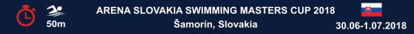Arena Slovakia Swimming Masters Cup 2018, Slovakia Swimming Masters Cup Results 2018, www.swim.by, Slovakia Masters Swimming Results 2018, Slovakia Swimming Masters Cup 2018 Výsledky, Slovakia Masters Swimming Výsledky, Swim.by