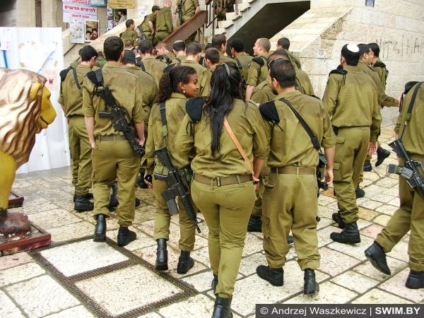Армия Израиля, девушки