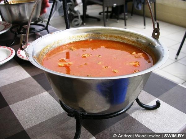Балатонская уха, суп