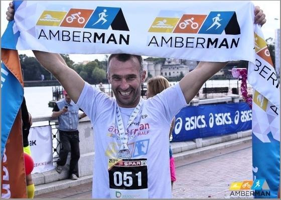 Балтийский полумарафон AMBERMAN 2017, бег в Калининграде