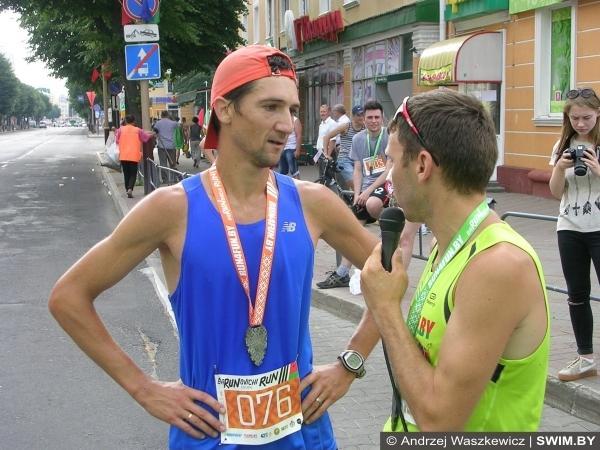 Baranovichi Run 2016, полумарафон в Барановичах, Дмитрий Григорьев