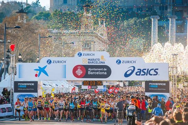 Barcelona Marathon 2016, беговой марафон в Барселоне