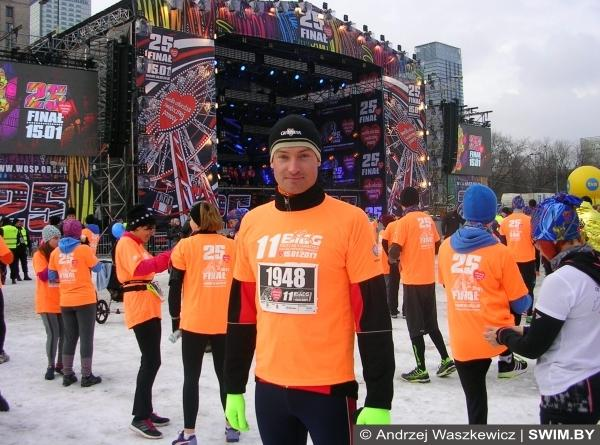 Благотворительный забег 5 км в Варшаве, Andrzej Waszkewicz, бег Варшава, Анджей Вашкевич