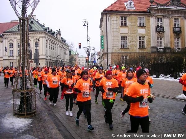 Благотворительный забег 5 км в Варшаве, бег Варшава, Swim.by, Анджей Вашкевич