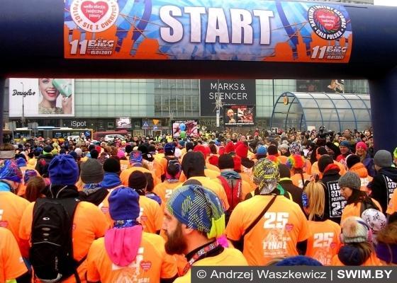 Благотворительный забег 5 км в Варшаве
