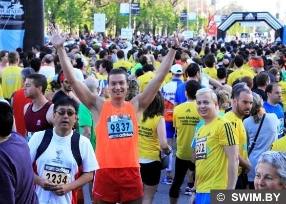 Andrzej Waszkewicz мой первый беговой марафон 42 км 195 м