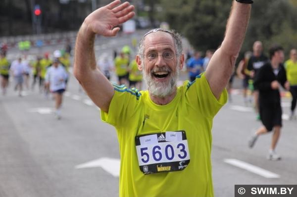 Бег, марафон Тель-Авив, Израиль