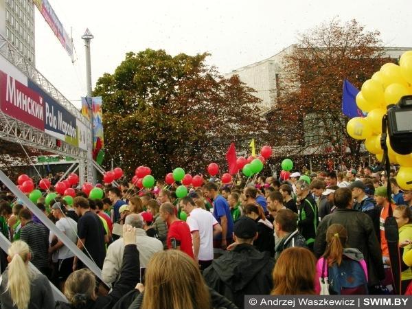 Бег Минск Polo марафон