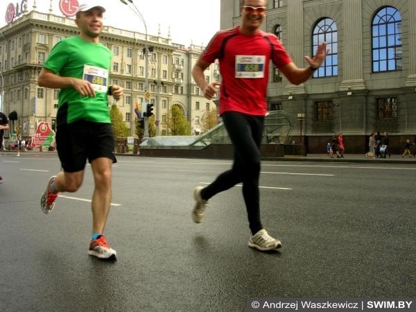 Бег Минский Polo марафон