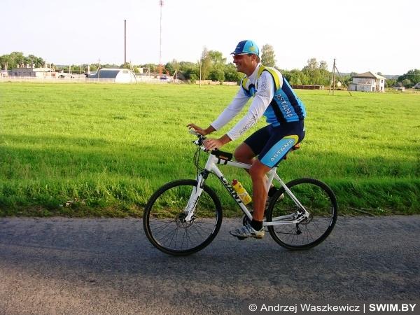 Belarus Bike Marathon, веломарафон в Беларуси, Анджей Вашкевич, Swim.by, Андрей Вашкевич