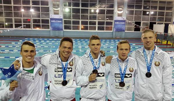 Belarus swimming team 2015