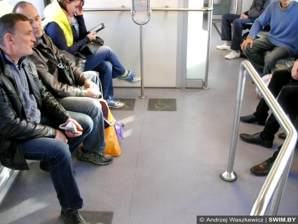 Андрей Вашкевич, городские линии, Минск поезда
