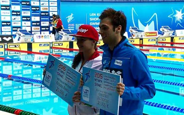 Best swimmers of European Short Course Swimming Championships, Netanya 2015