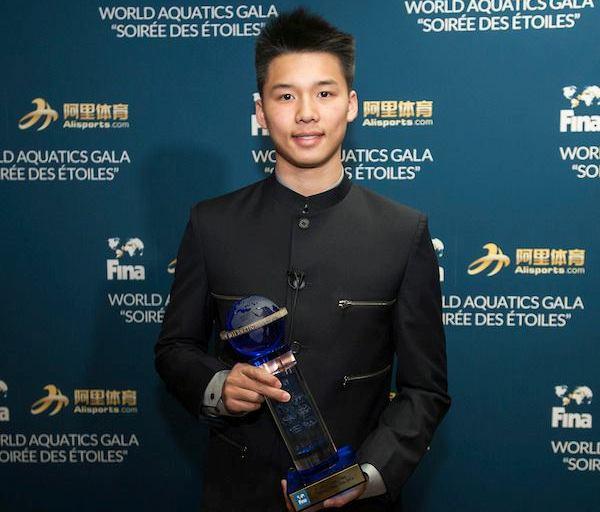 Chen Aisen, лучший прыгун в воду 2016 года, FINA, лучшие спортсмены водных видов спорта, Swim.by