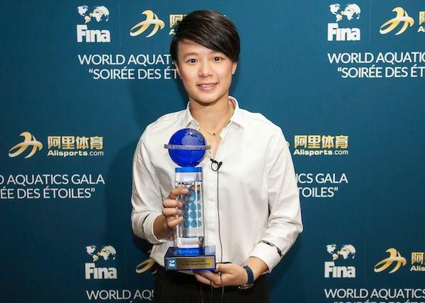 Shi Tingmao, лучшая прыгунья в воду 2016 года, FINA, лучшие спортсмены водных видов спорта, Swim.by