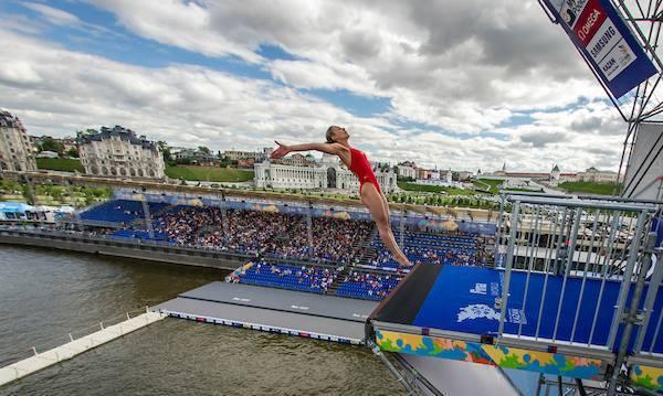 Lysanne Richard, лучшая хай-дайвер 2016 года, FINA, лучшие спортсмены водных видов спорта, Swim.by