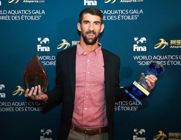Michael Phelps, лучший пловец 2016 года, легенда водных видов спорта, FINA, лучшие спортсмены водных видов спорта, Swim.by