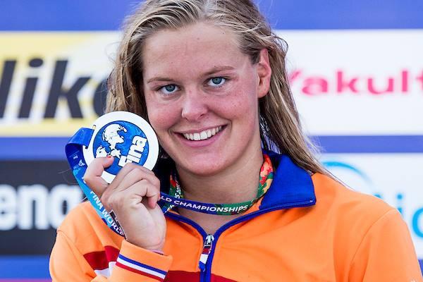 Sharon Rouwendaal, лучшая пловчиха 2016 года на открытой воде, FINA, лучшие спортсмены водных видов спорта, Swim.by
