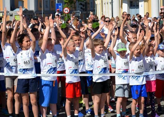 Białystok Junior City Run 2018, Białystok Półmaraton 2018, детские соревнования по бегу в Белостоке