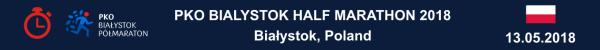 PKO Białystok Half Marathon Results 2018, Białystok Półmaraton 2018 Wyniki, Полумарафон в Белостоке Результаты, Białystok Half Marathon 2018, Białystok Półmaraton 2018