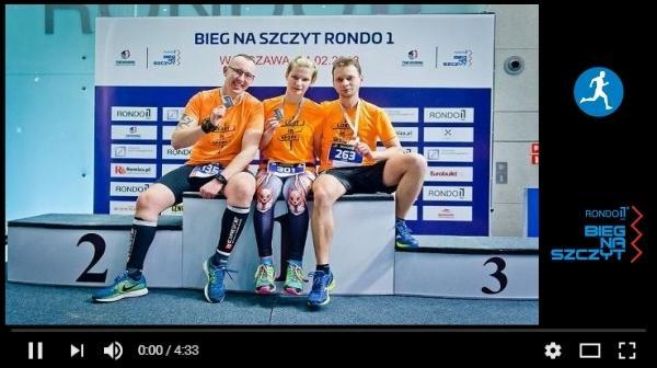 Bieg Na Szczyt Rondo 1 Video, www.swim.by, Rondo 1 Run Up Video, Swim.by