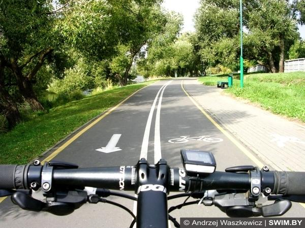 Bike road Minsk