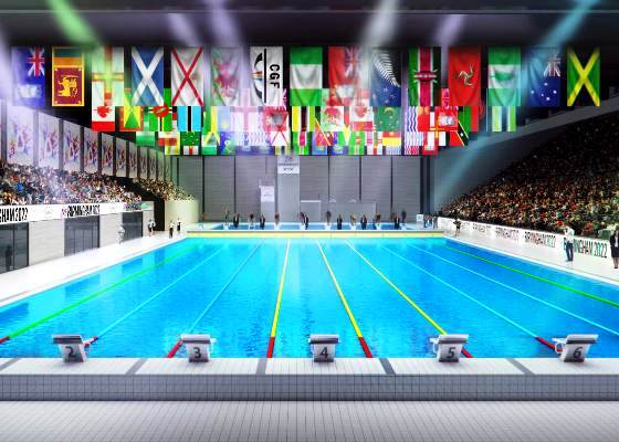 Birmingham 2022, Commonwealth Games, EMG Sport, Swim.by