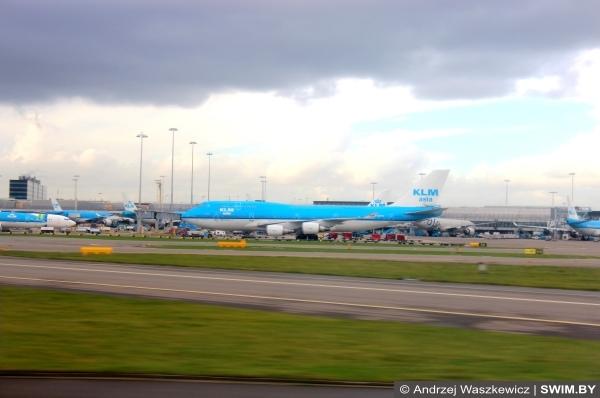 Авиапарк самолёты KLM, Боинг, Аэробус