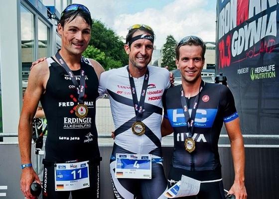 Борис Штеин победитель триатлона Enea IRONMAN 70.3 Gdynia 2017