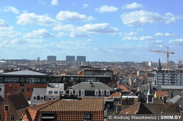 Вид на Брюссель Бельгия