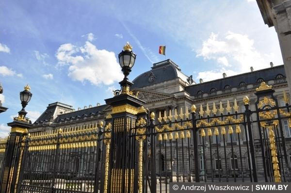 Архитектура и парки Брюсселя Бельгия