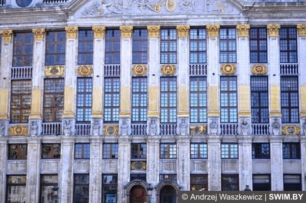 Брюссель площадь Grote Markt Бельгия