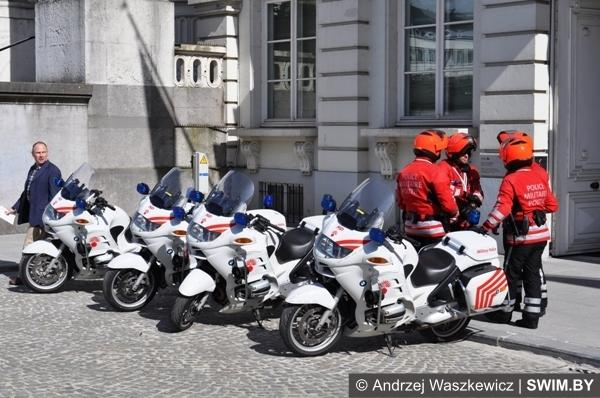Полиция Брюсселя Бельгия