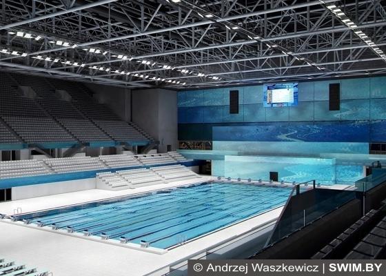 Олимпийский центр плавания в Будапеште, бассейн в Будапеште