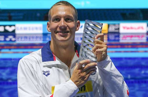 Caeleb Dressel, swimming, FINA Best Male Swimmer 2017, USA Swimming, Swim.by