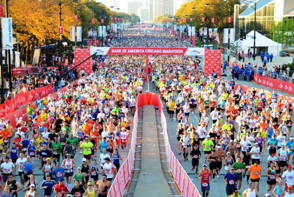 Chicago Marathon, Чикагский марафон, марафон в Чикаго, Swim.by
