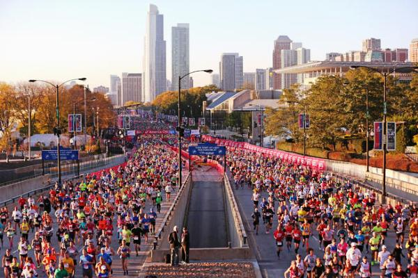 Chicago Marathon, Чикагский марафон, марафон в Чикаго