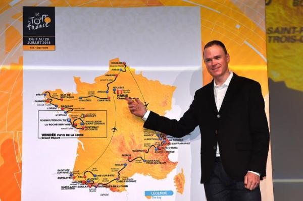 Chris Froome, Tour de France 2018, Route, Stages, Tour de France 2018 presentation, Cycling, Swim.by