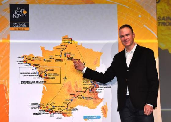 Chris Froome, Tour de France 2018, Route, Stages