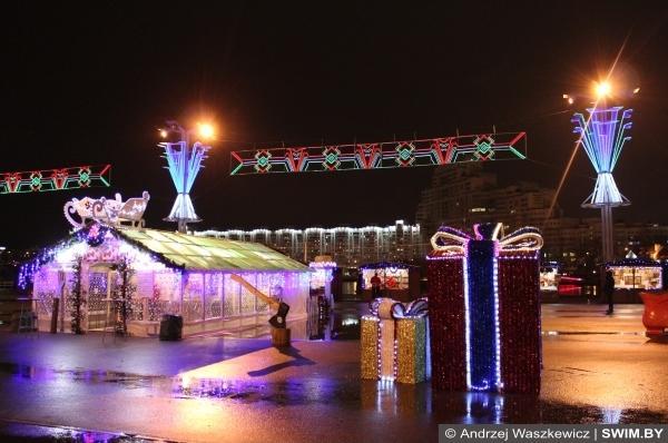 Новогодний базар и Рождественская ярмарка Минск Беларусь